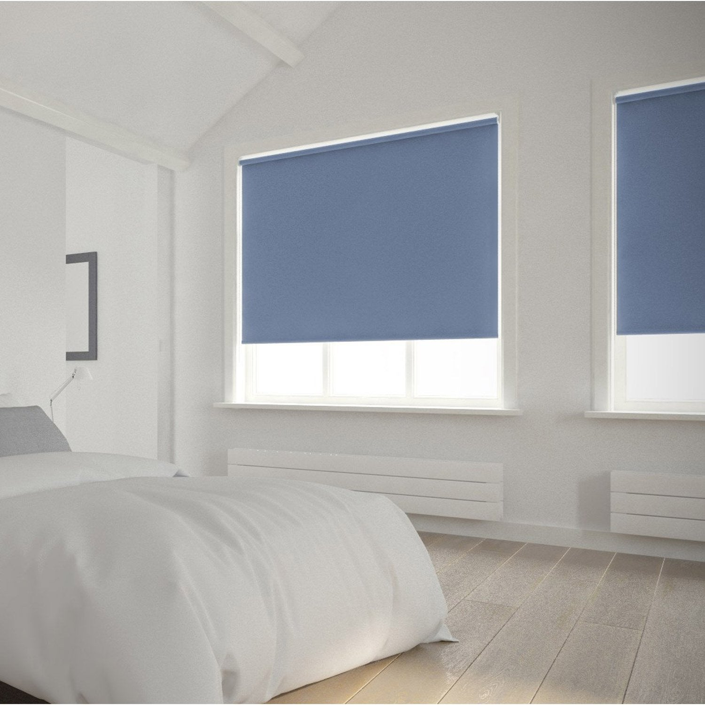 store enrouleur occultant 5789 inspire bleu baltique n 1 40x160 cm leroy merlin. Black Bedroom Furniture Sets. Home Design Ideas