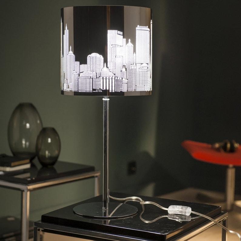 Lampe E27 New York Inspire Metal Chrome 60 W Leroy Merlin