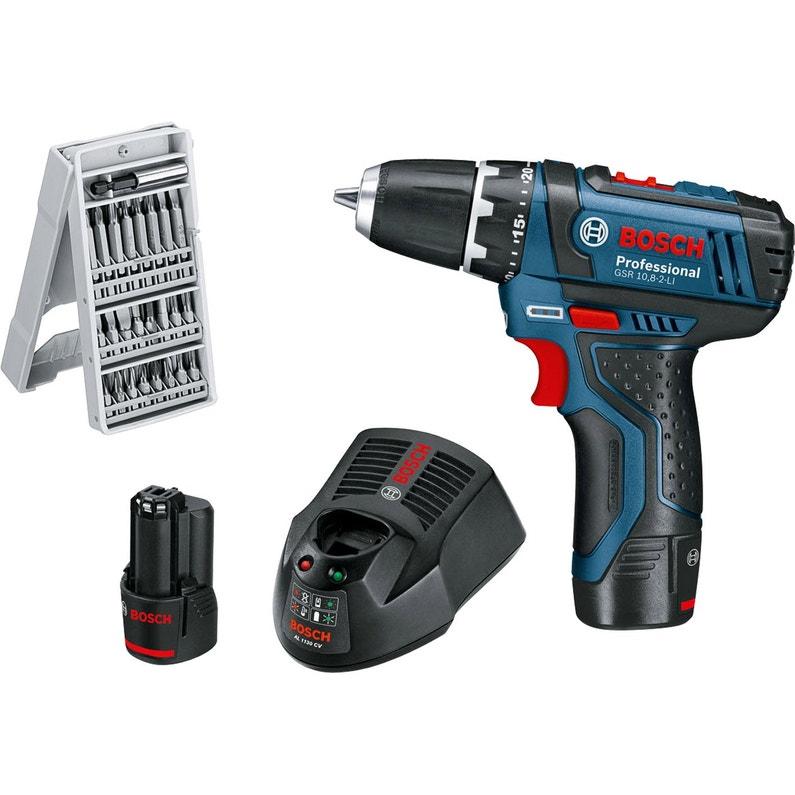 Perceuse Sans Fil Bosch Professional 12 V 2 Ah 2 Batteries