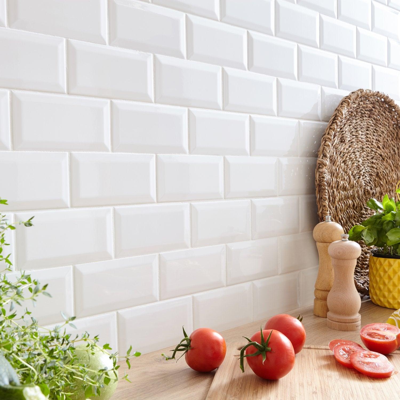 De Haute Qualite Habillez Le Mur De Votre Cuisine, Avec Un Carrelage Métro Blanc