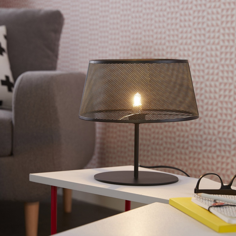 Lampe, g9 Mesh COREP, métal noir, 28 W