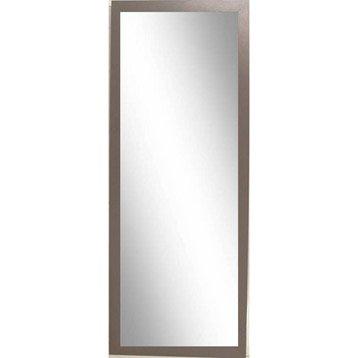 Miroir Riviera INSPIRE, brun, l.30 x H.120 cm