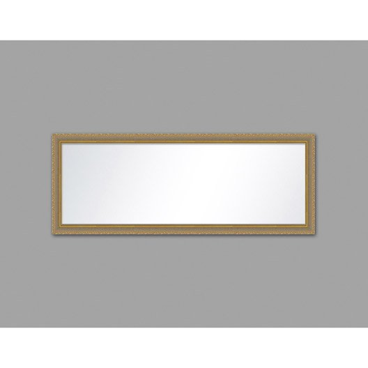 Miroir canaux or x cm leroy merlin for Miroir largeur 50 cm