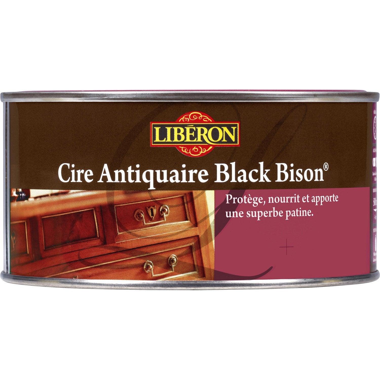 Cire En P Te Meuble Et Objets Blackbison Liberon 0 5 L Acajou  # Meuble Acajou
