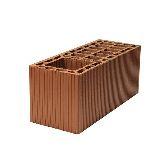brique poteau 20x20x50 cm leroy merlin. Black Bedroom Furniture Sets. Home Design Ideas