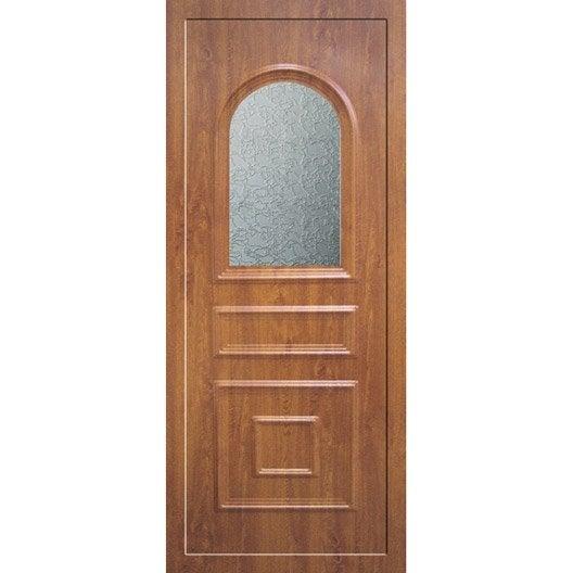 Porte d 39 entr e sur mesure en pvc antares artens leroy merlin - Porte d entree sur mesure ...