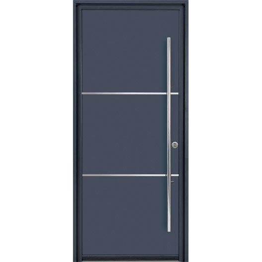 Porte d 39 entr e sur mesure en aluminium allure excellence for Prix d une porte d entree en aluminium