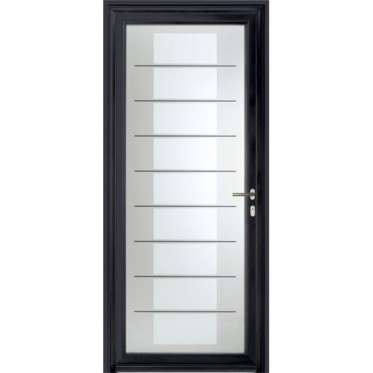 Porte d 39 entr e sur mesure en aluminium verona excellence for Porte d entree aluminium prix