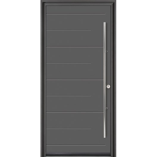 porte d 39 entr e sur mesure en aluminium soprano excellence. Black Bedroom Furniture Sets. Home Design Ideas