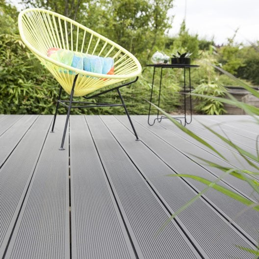 Dalle et lame bois pour terrasse et jardin  Terrasse et sol