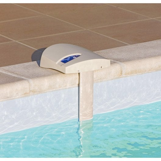 Kit alarme pour piscine enterr e a immersion visiopool 20m2 leroy merlin - Sel piscine leroy merlin ...