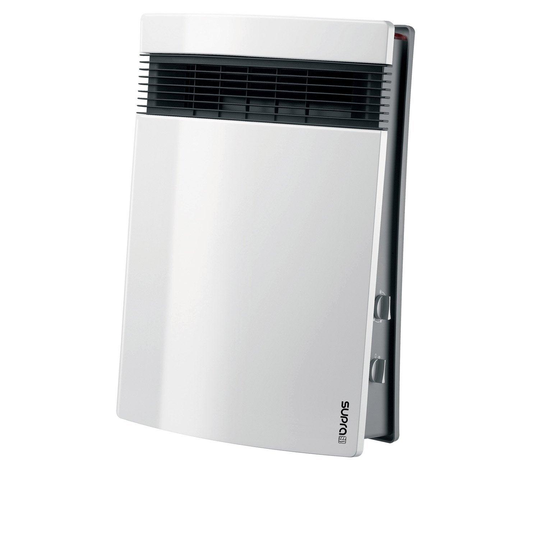 Radiateur soufflant salle de bain mobile électrique SUPRA Lito 02 1800 W