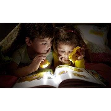 Eclairage à piles Winnie l'ourson, LED 1 x 0.3 W, LED intégrée blanc chaud