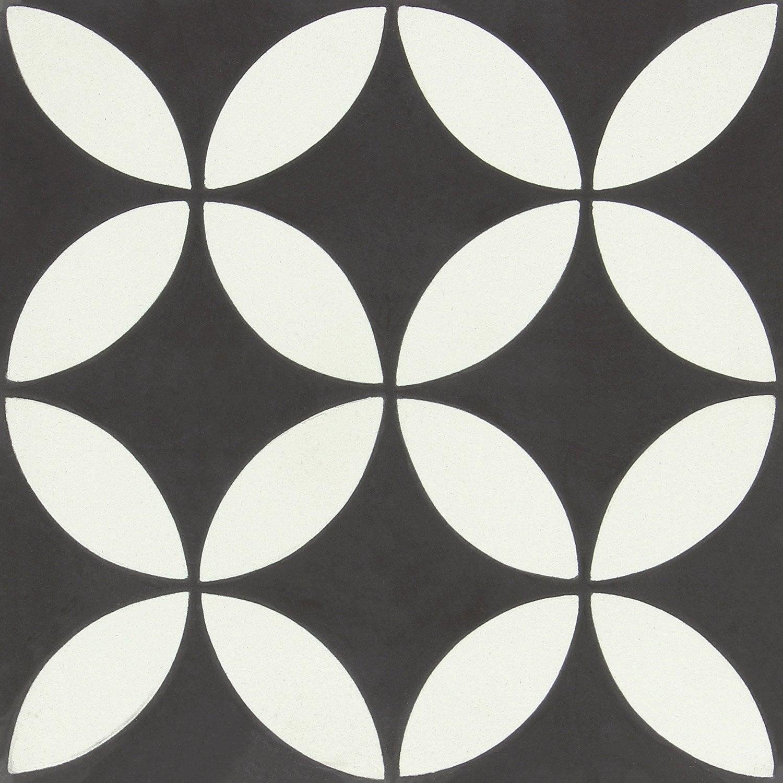 carreau de ciment belle poque d cor l a gris et blanc l. Black Bedroom Furniture Sets. Home Design Ideas