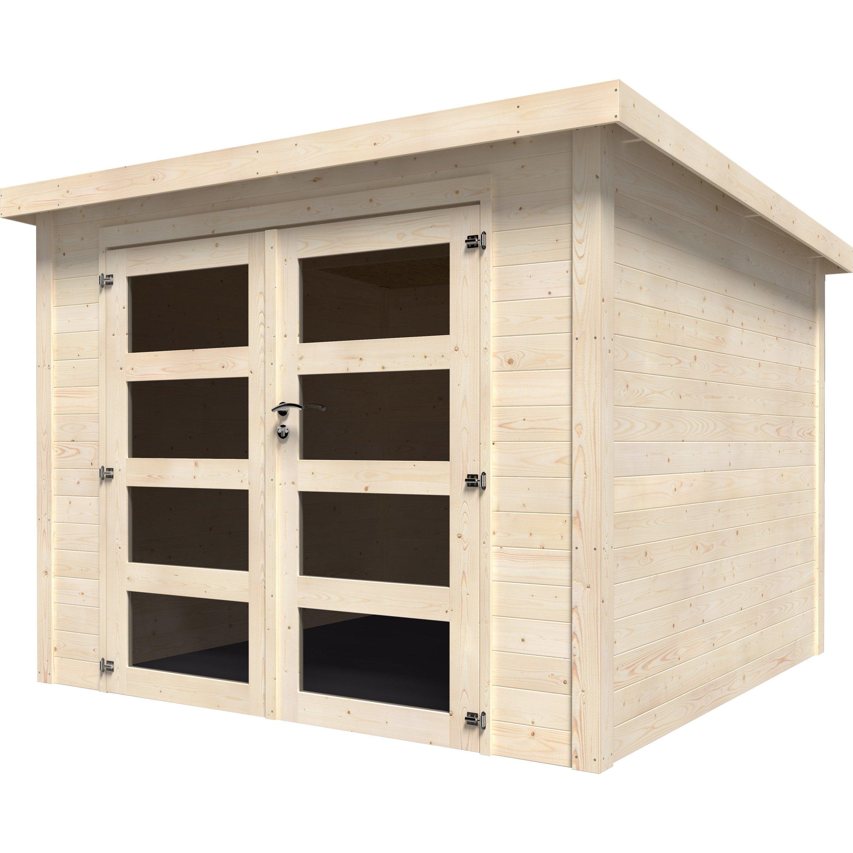 Construire Un Abri A Velo abri de jardin bois naterial kuta axess ep.28 mm, 5.96 m²