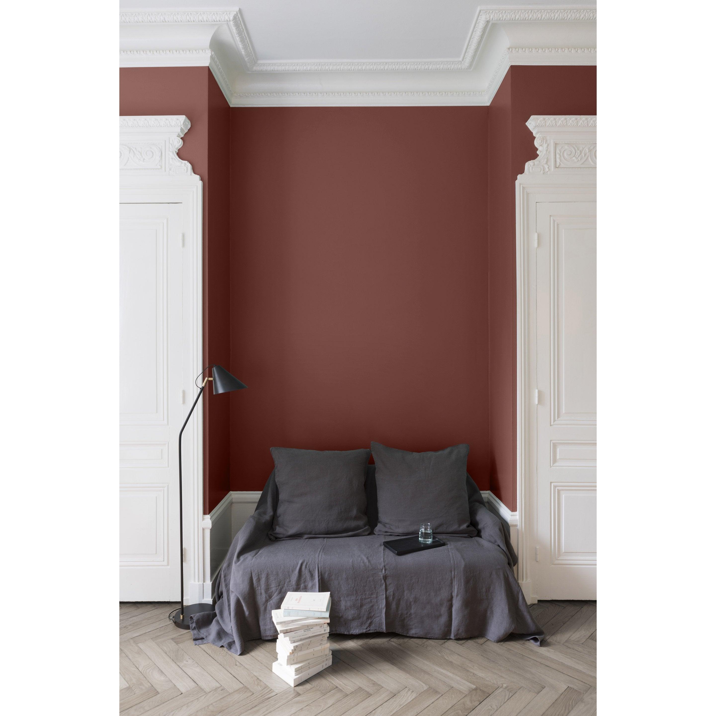 Peindre Un Mur De Brique peinture mur, boiserie, radiateur liberon brique provençale velours 2.5 l