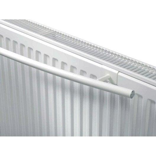 barre porte serviettes et fixations superia blanc leroy merlin. Black Bedroom Furniture Sets. Home Design Ideas