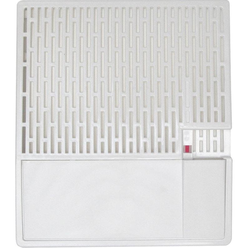 Saturateur Et Niveau Plastique Blanc