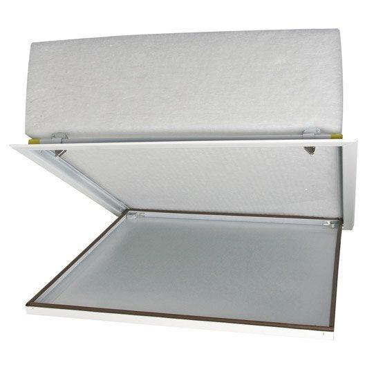 trappe de visite isol e sans r hausse semin 59 x 59 cm leroy merlin. Black Bedroom Furniture Sets. Home Design Ideas