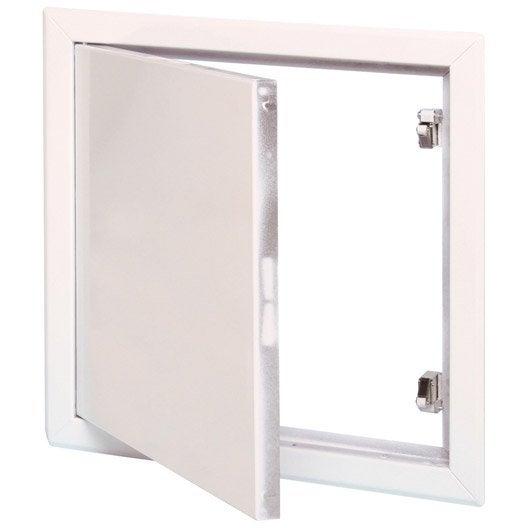 Usage du produit : Trappe de visite pour mur et plafond Largeur (en cm