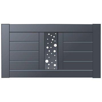 Clôture aluminium Mixit NATERIAL, divers coloris disponibles, H.80 x l.150 cm