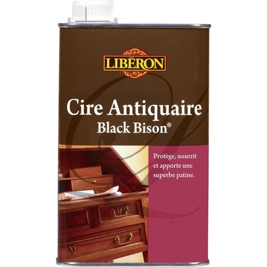 cire liquide meuble et objets cire black bison liberon 0. Black Bedroom Furniture Sets. Home Design Ideas