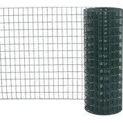 Grillage soudé vert H.1.8 x L.20 m, maille de H.75 x l.50 mm