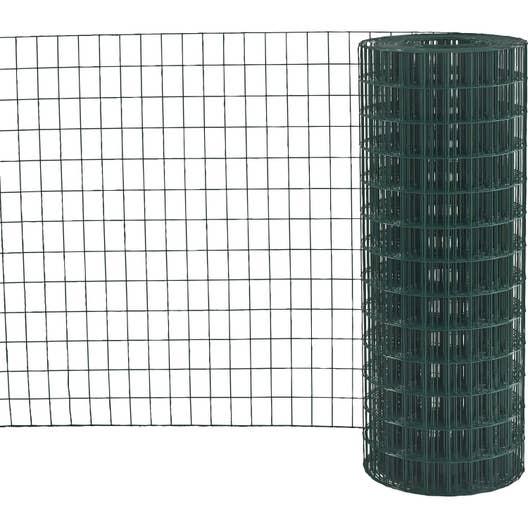 grillage rouleau soud vert h 2 x m maille x l. Black Bedroom Furniture Sets. Home Design Ideas