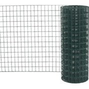 Grillage soudé vert H.2 x L.20 m, maille de H.75 x l.50 mm