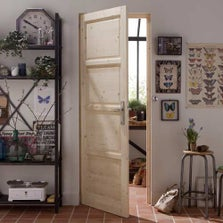porte coulissante porte int rieur escalier et rambarde construction menuiserie leroy merlin. Black Bedroom Furniture Sets. Home Design Ideas