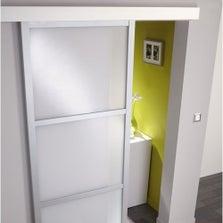 poser une porte coulissante leroy merlin. Black Bedroom Furniture Sets. Home Design Ideas
