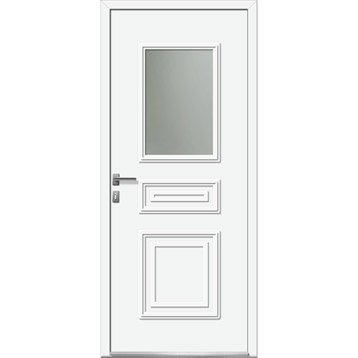 porte d 39 entr e porte d 39 entr e sur mesure porte pvc bois aluminium leroy merlin. Black Bedroom Furniture Sets. Home Design Ideas