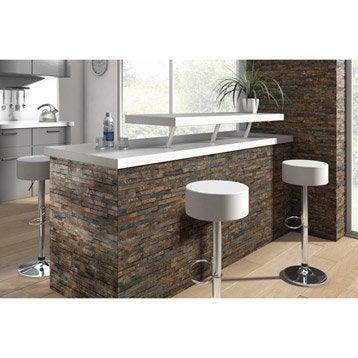 plaquette de parement et accessoires plaquette de parement et brique de verre leroy merlin. Black Bedroom Furniture Sets. Home Design Ideas