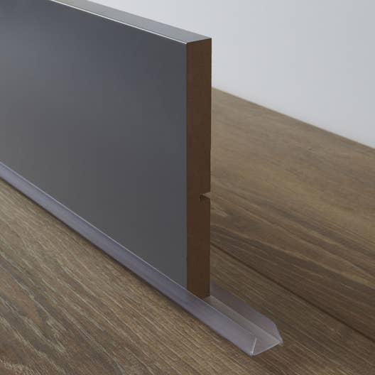 bavette de plinthe de meuble de cuisine delinia leroy merlin. Black Bedroom Furniture Sets. Home Design Ideas