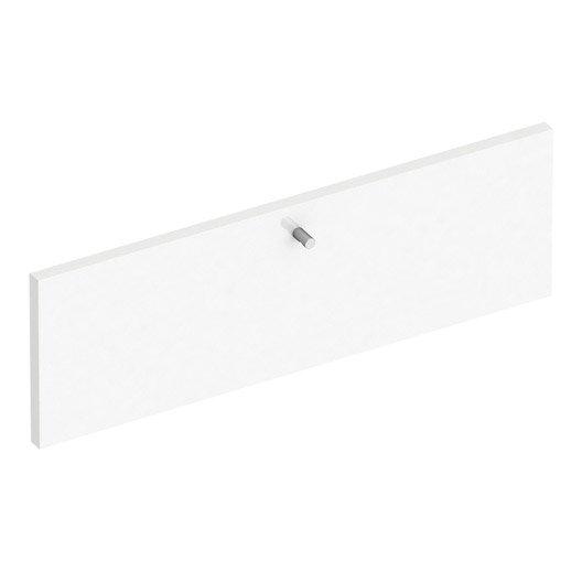 fa ade de tiroir spaceo home 20 x 60 x 1 6 cm blanc brillant leroy merlin. Black Bedroom Furniture Sets. Home Design Ideas