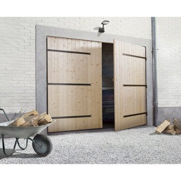 Porte de garage 2 vantaux PRIMO H.200 x l.240 cm