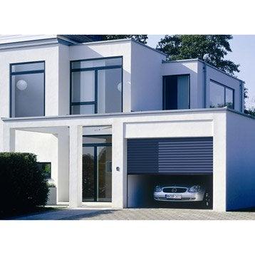 Porte de garage à enroulement motorisée HORMANN H.200 x l.300 cm