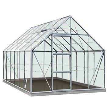 Serre de jardin en polycarbonate simple paroi Rainbow, 9.9 m²
