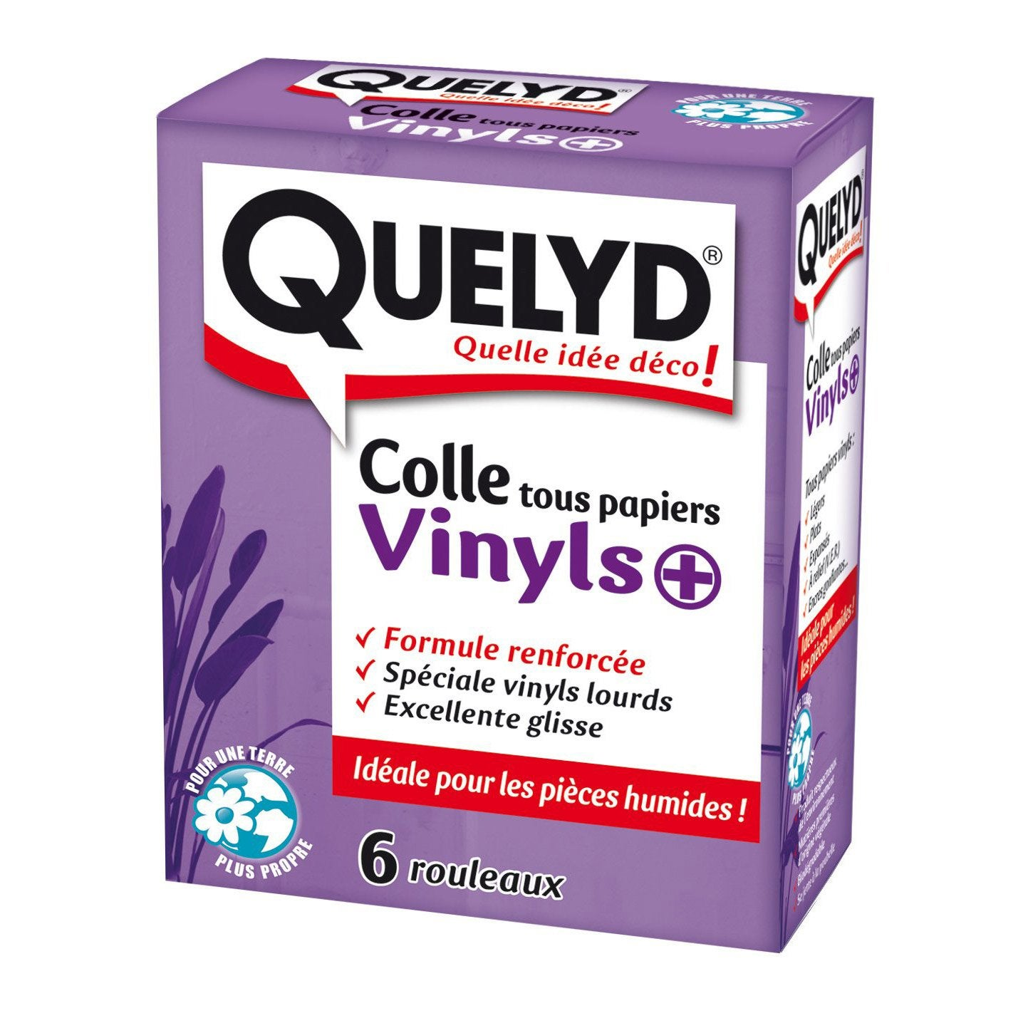 Colle papier peint vinyle QUELYD, 0.3 kg | Leroy Merlin