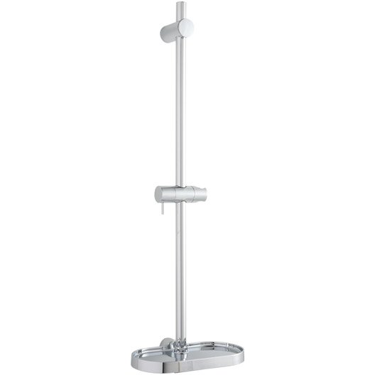 Barre de douche sensea shelf chrom leroy merlin - Ensemble de douche leroy merlin ...