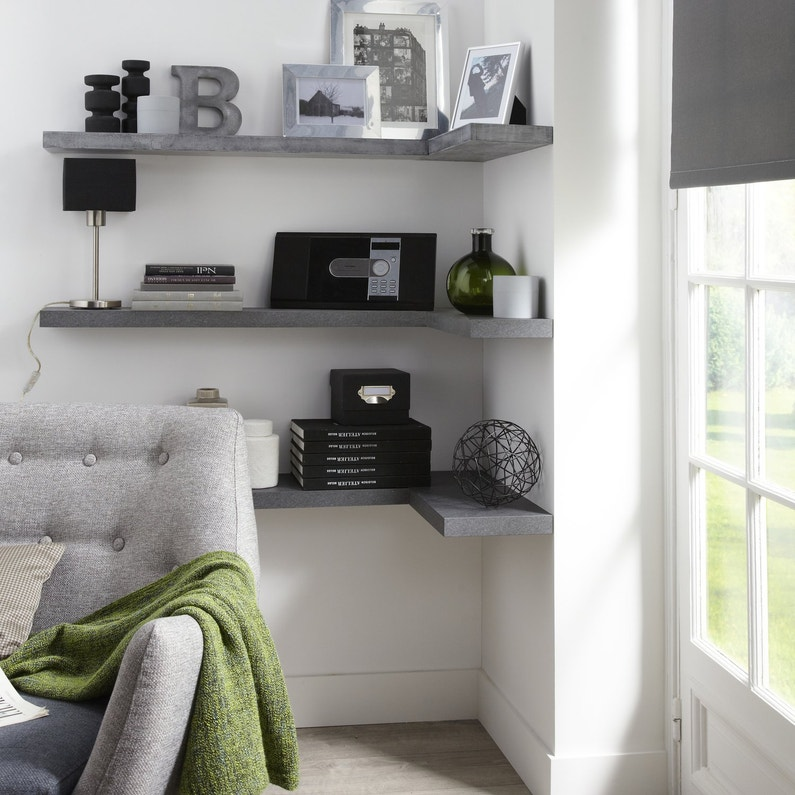 etag res murales le rangement tendance. Black Bedroom Furniture Sets. Home Design Ideas