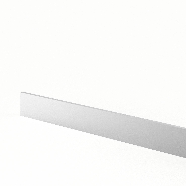 Plinthe de cuisine blanc graphic x cm for Plinthe cuisine 17 cm