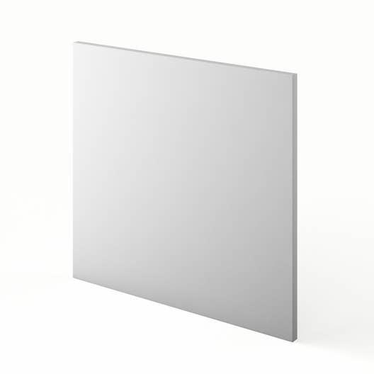 porte pour lave vaisselle de cuisine blanc graphic x cm leroy merlin. Black Bedroom Furniture Sets. Home Design Ideas