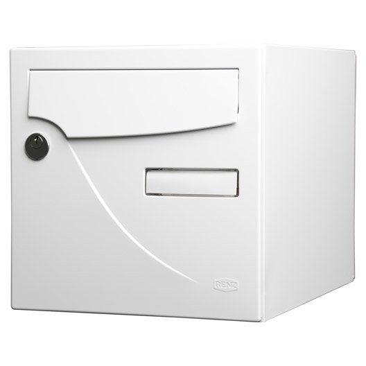 bo te aux lettres normalis e la poste 1 porte renz. Black Bedroom Furniture Sets. Home Design Ideas