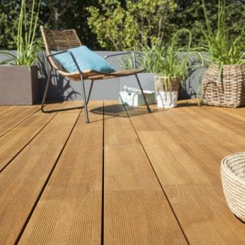 lame bois pour terrasse et jardin - dalle et lame bois pour terrasse
