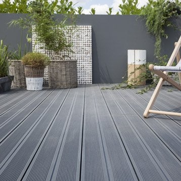 Dalle terrasse caillebotis lame terrasse leroy merlin - Planche bois blanc leroy merlin ...