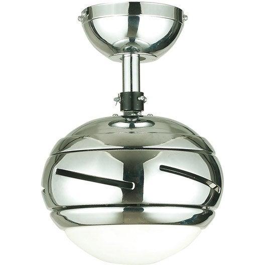 Ventilateur de plafond lustre suspension et plafonnier leroy merlin - Ventilateur leroy merlin ...