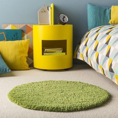 Une chambre au tapis rond