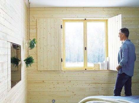 Isoler les murs sous un bardage int rieur leroy merlin for Leroy merlin bardage interieur
