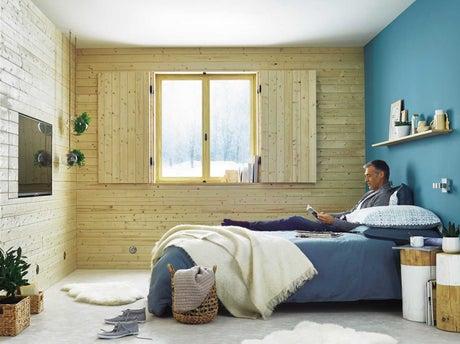 isoler les murs sous un bardage int rieur leroy merlin. Black Bedroom Furniture Sets. Home Design Ideas